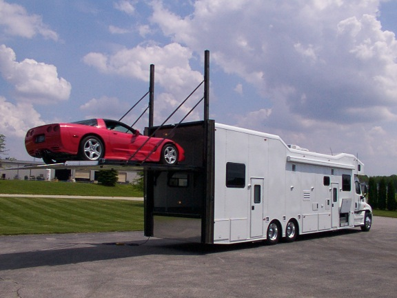Welcome for Motorhomes with garage